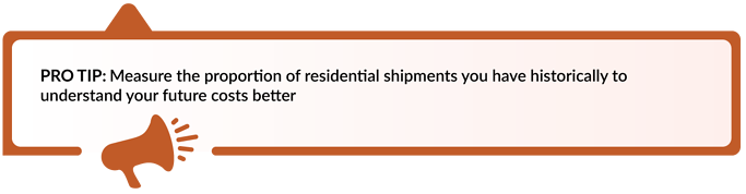 Use Your Shipping History to Predict Future Costs