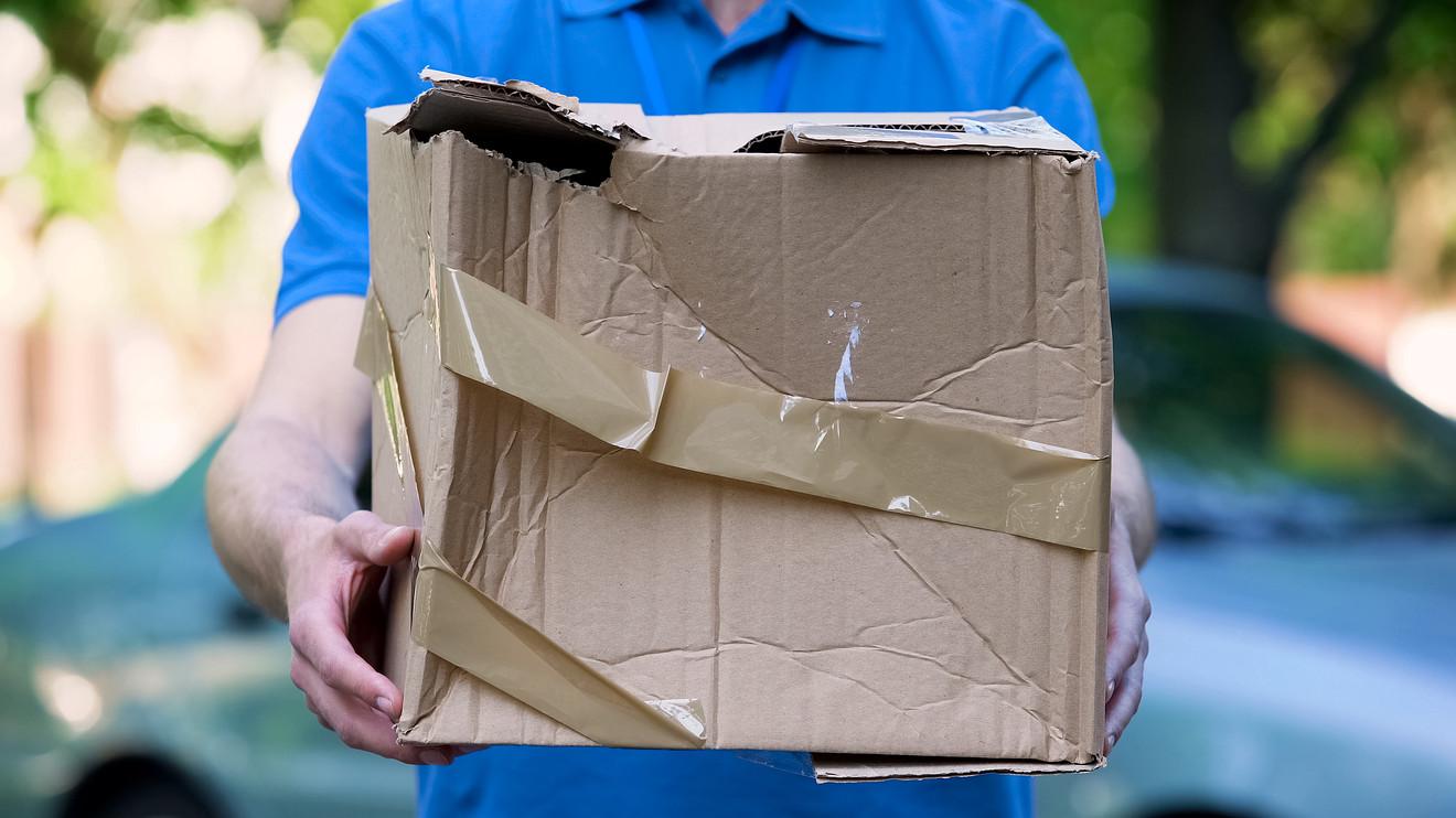 broken box